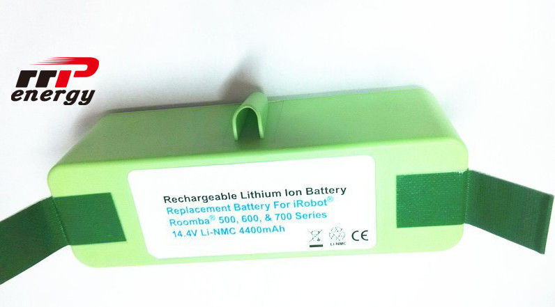 25ohm Li Ion Rechargeable Batteries 14.4V 4.4Ah For Vacuum Cleaner Roomba Sweeper