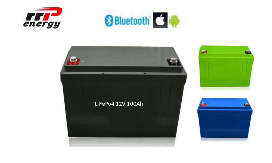 2000 Times Cycle Life Lithium Ion Polymer Battery 12V 100Ah With Smart BMS APP