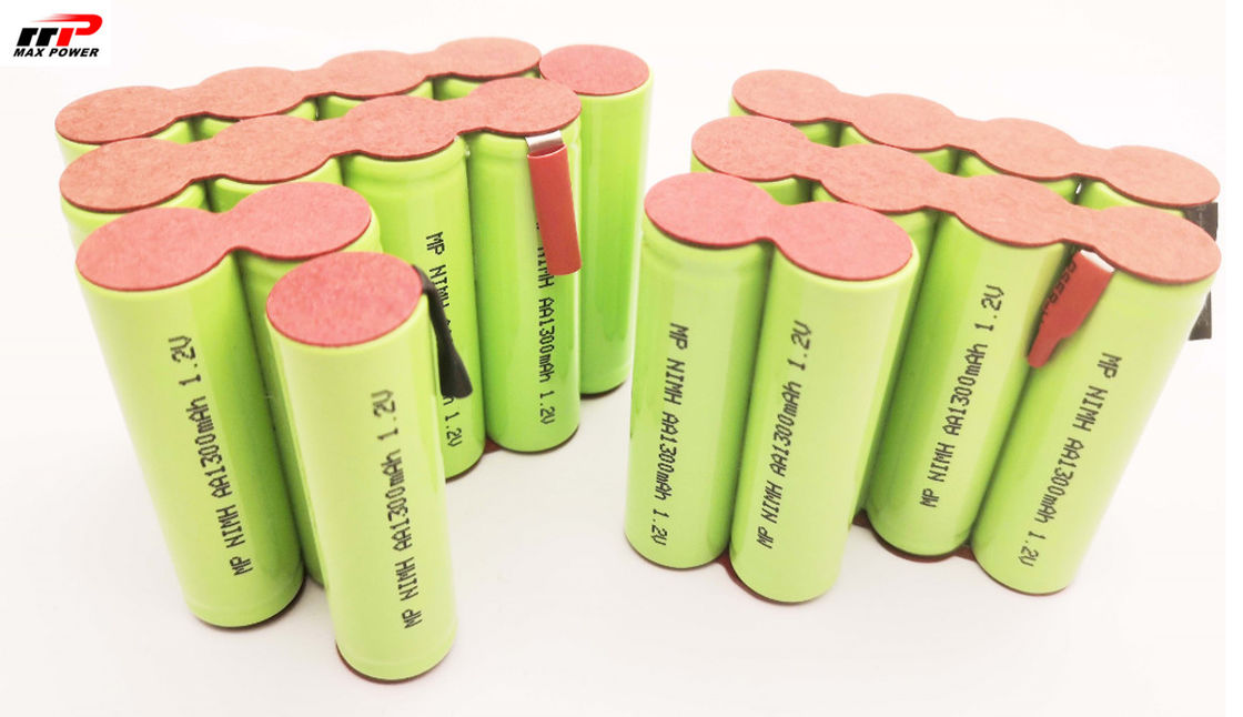 14.4V AA NIMH Rechargeable Batteries , Power Tools Vacuum Cleaner Battery Pack
